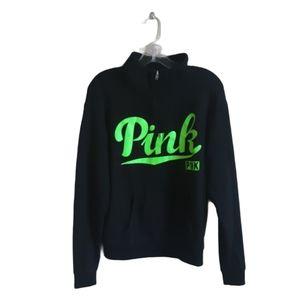 PINK Victoria's Secret Neon Green Pullover